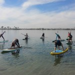 Yoga on water class