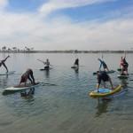 Yoga on water class