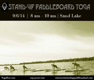 Taco Daze Stand-Up Paddleboard Yoga