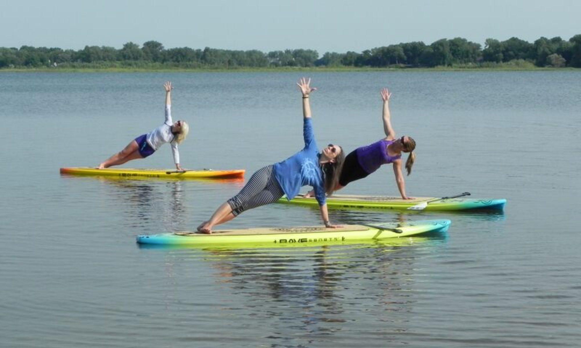 Sup Poser | Standup Paddleboard Yoga