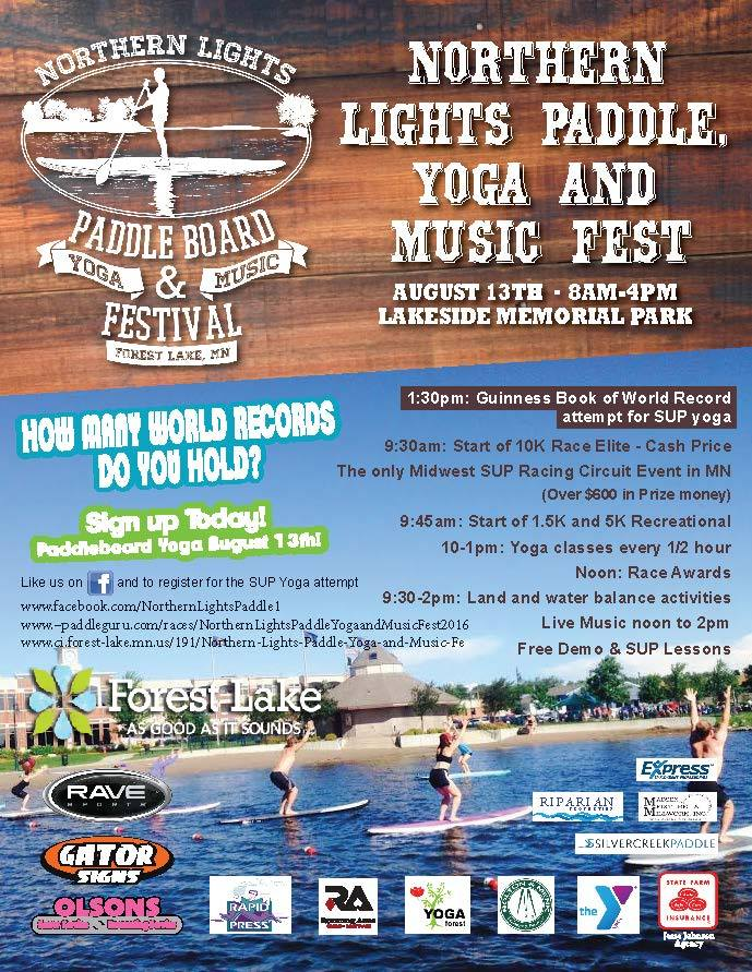 Northern Lights Paddle & Yoga